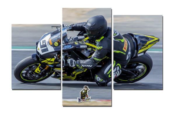 poster mural moto
