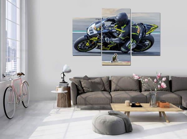 deco salon moto